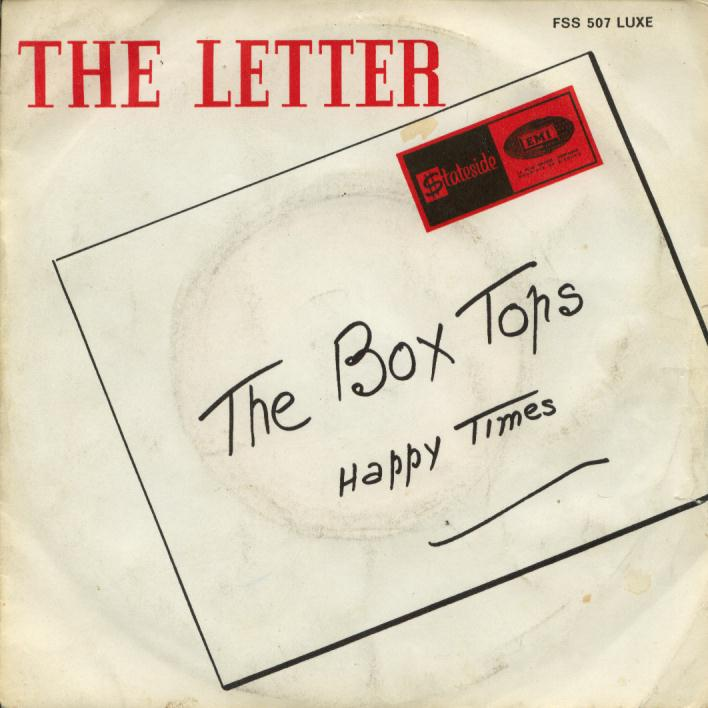 The Box Tops – The Letter (1967) single | The Hi-Fi Phono Room