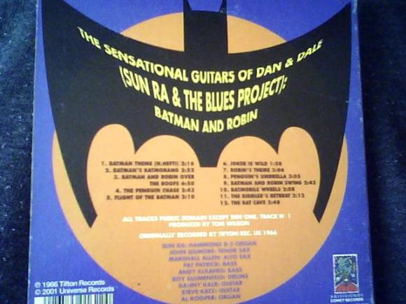 blues project batman