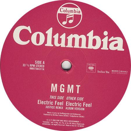 Electric Feel MGMT 441887b