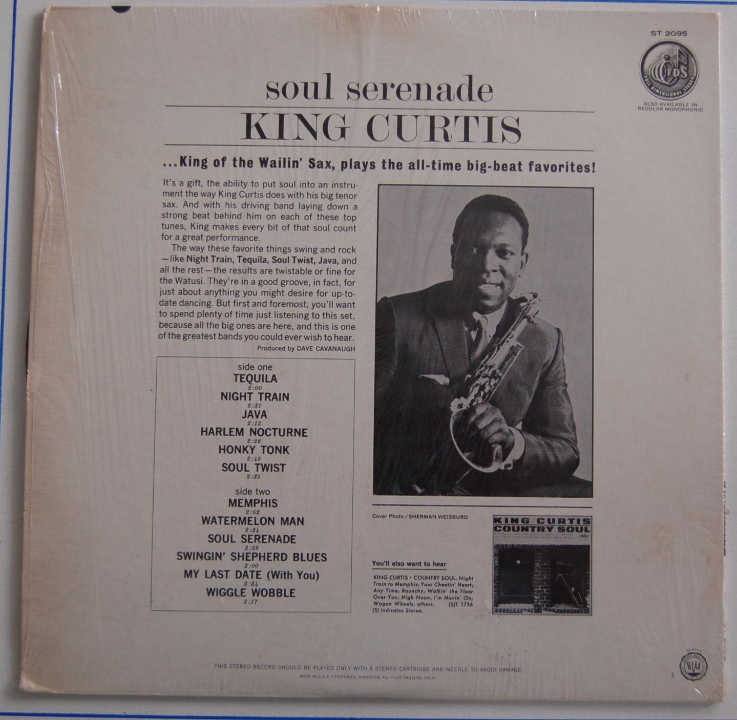 Memphis Soul Stew King Curtis: King Curtis – Soul Serenade / 1964