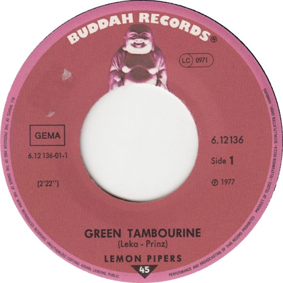 lemon-pipers-green-tambourine 45