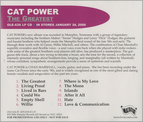 Cat+Power+-+The+Greatest+-+CD