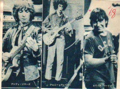 eric burdon animals 1968