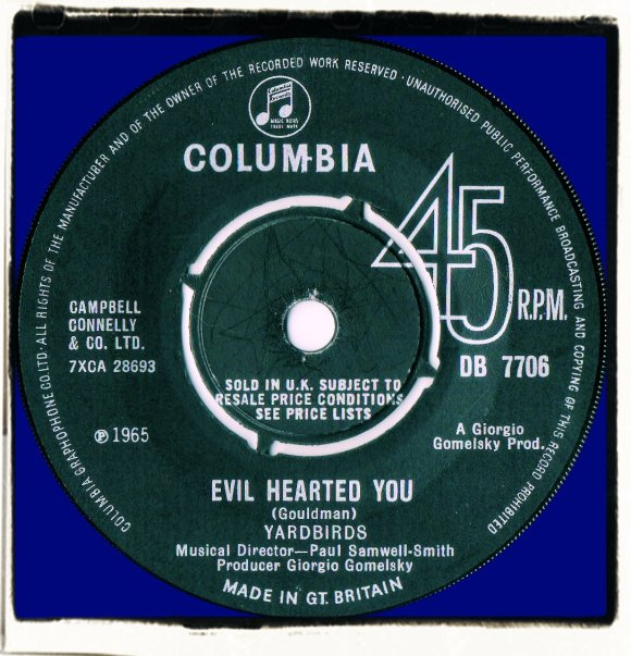 Yardbirds - Evil Hearted You