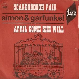 simon and garfunkle april come she will