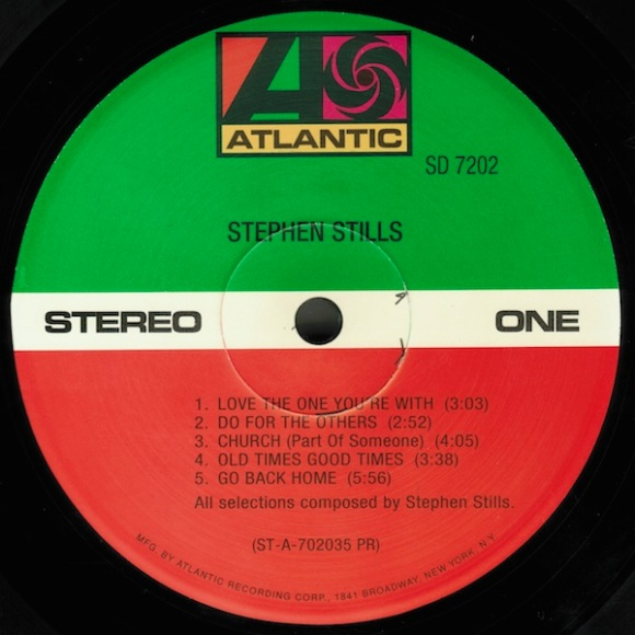 stephen stills 1970 vinyl