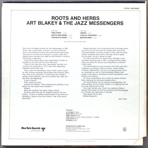 art blakey-roots-and herbs