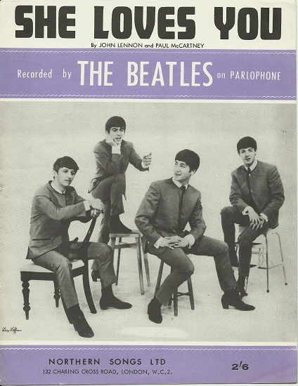 The Beatles – She Loves You / 1963